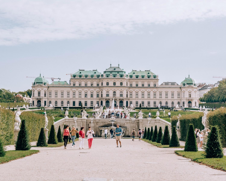 Belvedere-Viena-Austria
