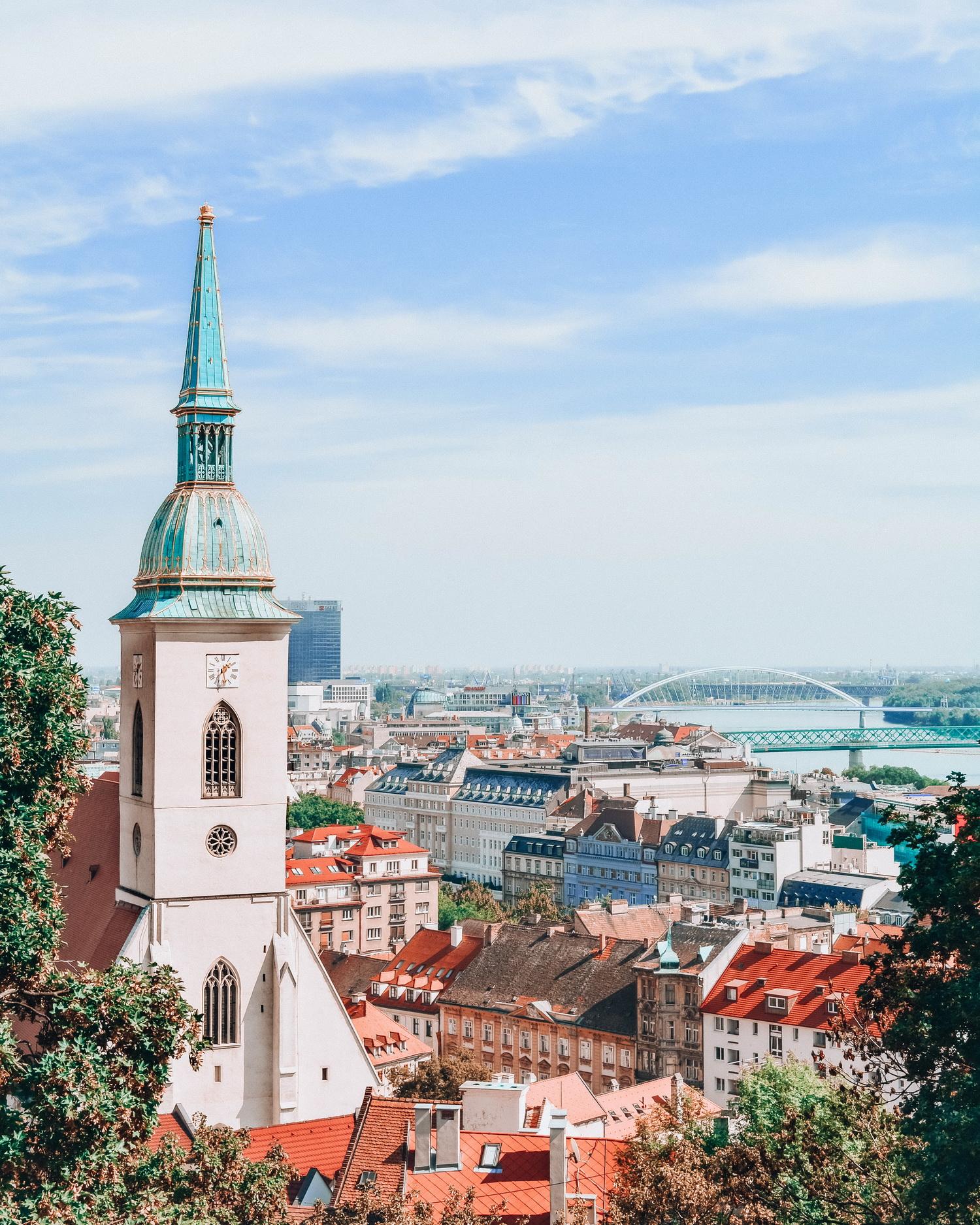 Panorama-Bratislava-Slovacia