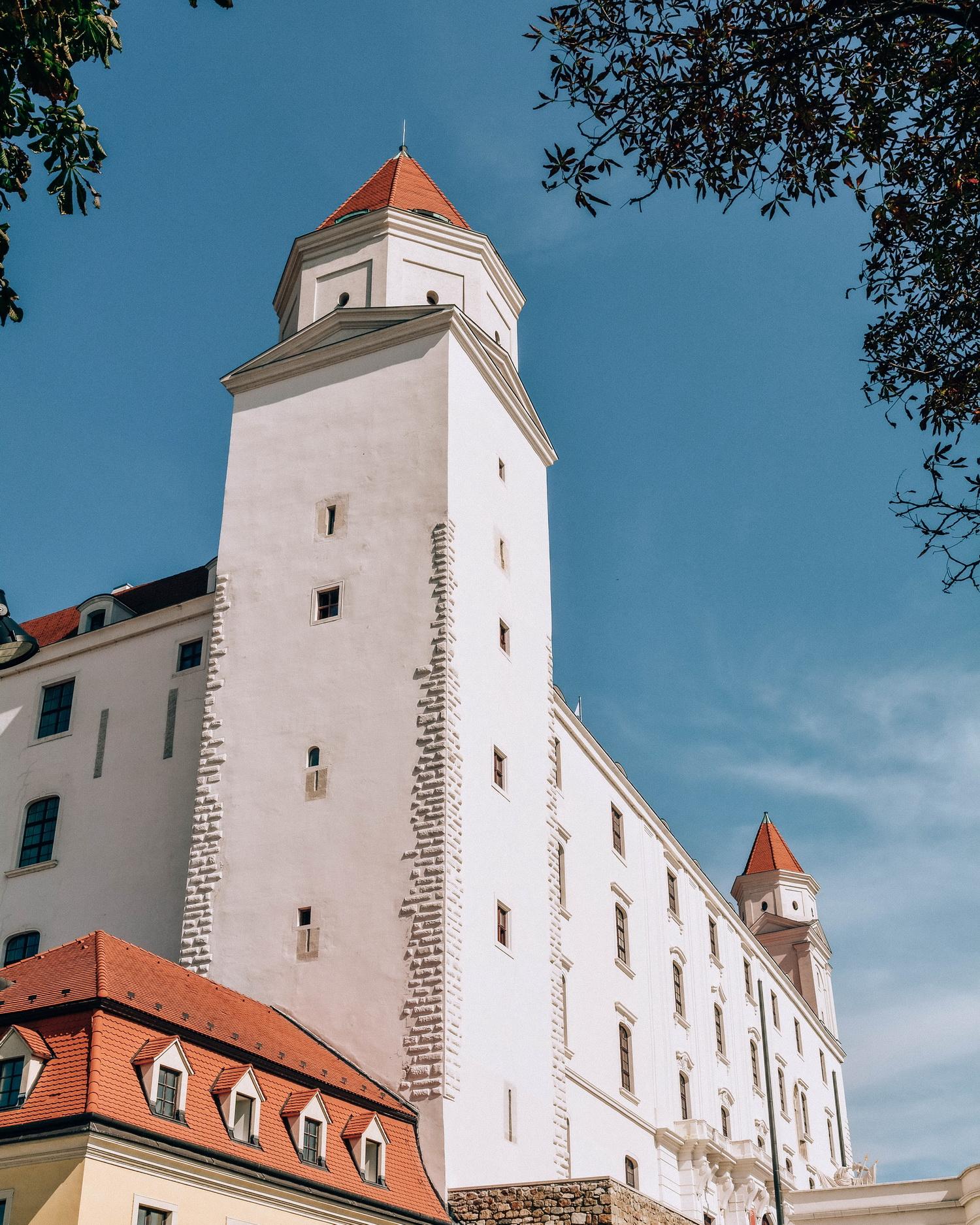 Castel-Bratislava-Slovacia