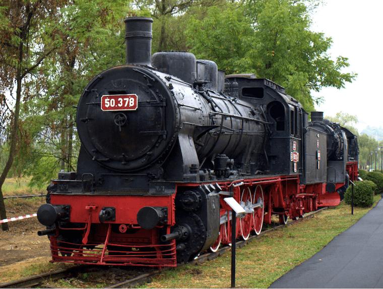 Muzee aer liber: Muzeul Locomotivelor cu Abur Reșița