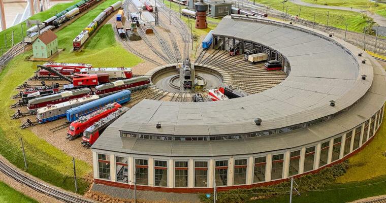Muzeul CFR – trenuri și trenulețe pentru copii de toate vârstele